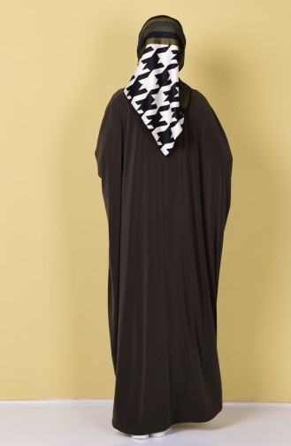Abaya 17141-02 Vert Khaki 17141-02