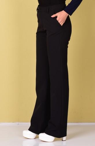 Pantalon Noir 2508-01