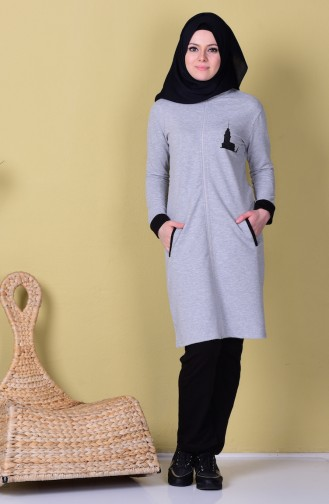 Gray Sweatsuit 17008-03