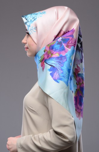 Water Green Scarf 01