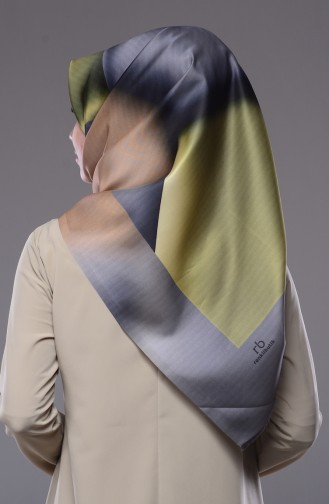 Grau Kopftuch 08