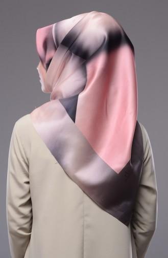 شال للراس بتصميم مطبع بألوان متعددة  19