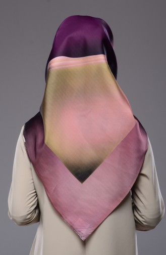 Purple Scarf 21