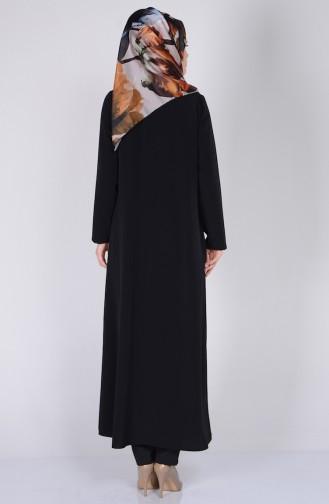 Black Abaya 1504-03