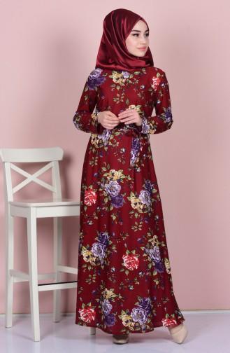 34b9a26d915f9 Desenli Tesettür Elbise Modelleri ve Fiyatları - Tesettür Giyim ...