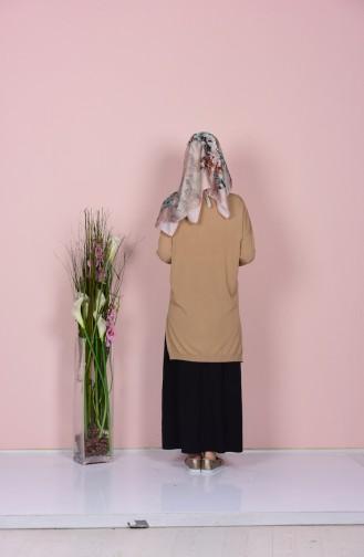 Camel Blouse 0417-03