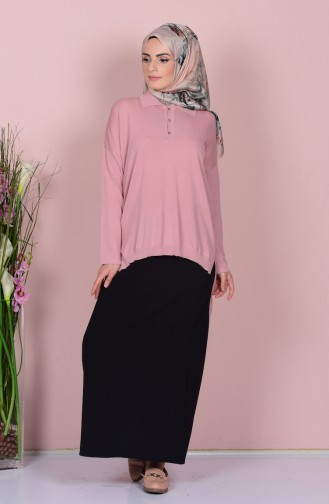 Dusty Rose Blouse 0417-01