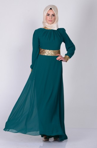 Emerald İslamitische Avondjurk 2398-05