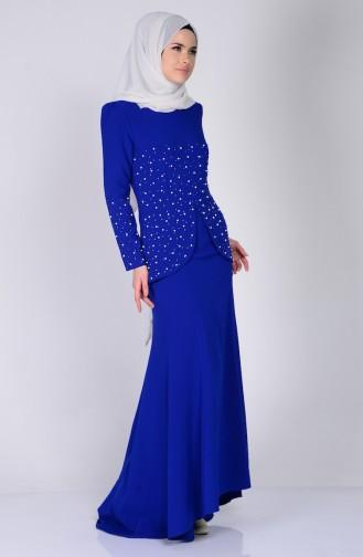 Kleide mit Perlen 3009-02 Saks 3009-02