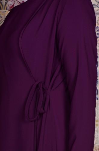 Purple Abaya 2113-05