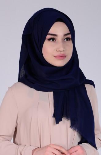 Navy Blue Sjaal 01
