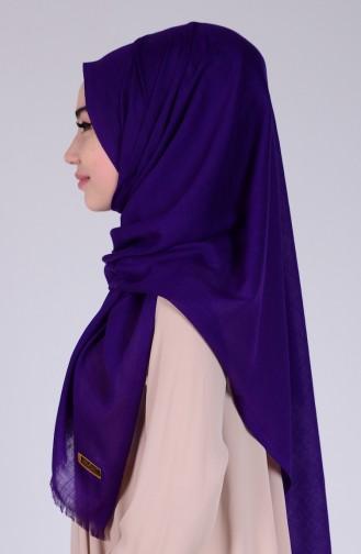 Dark Purple Sjaal 05