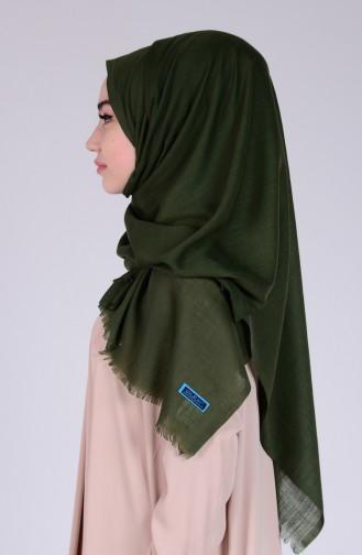Dark Green Sjaal 20
