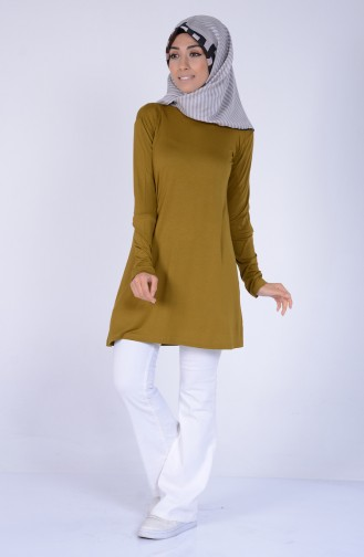 Oil Green Tops 0728-43