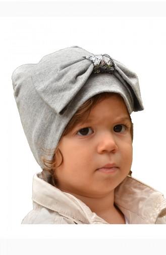 القبعات والباندانا رمادي 31