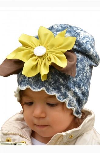 Bonnet Enfant Peigné NS11 Vert Huile Bleu Marine 11
