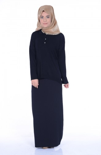 Black Blouse 0417-04