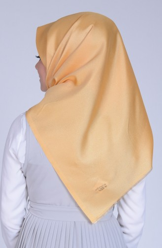 Cream Snap-Fastener Scarf 24