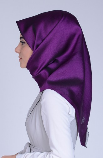 Purple Snap-Fastener Scarf 26