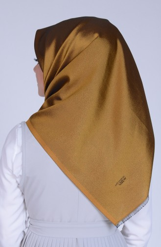 Oil Green Snap-Fastener Scarf 27