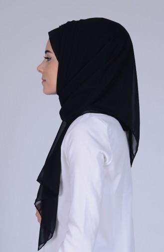 Châle Mousseline 9910-03 Noir 9910-03