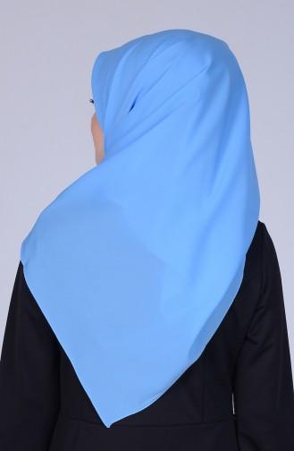 Echarpe Mousseline 60031-15 Bleu Clair 15
