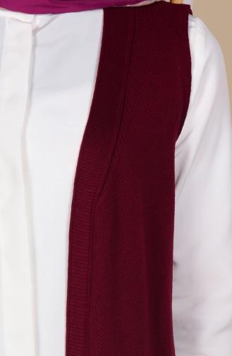 Claret red Vest 3944-03