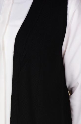 Black Gilet 3944-06