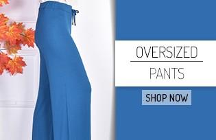 Oversized Pants Models