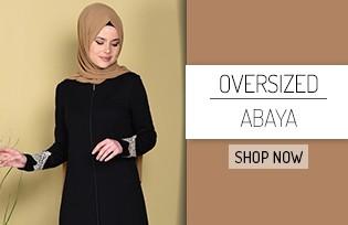 Oversized Abaya Models