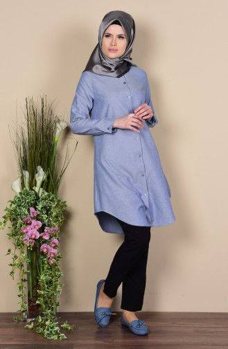 Navy Blue Tunic 6251-17