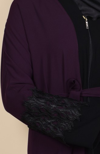 Purple Abaya 7724-01