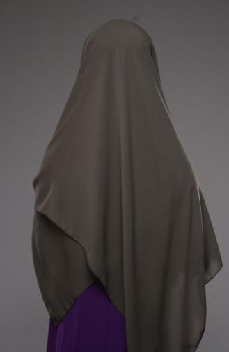 Dark Khaki Sjaal 11