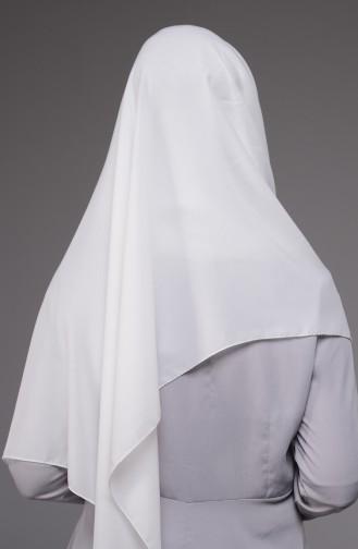 Weiß Schal 22