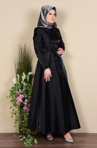 Robe Hijab Noir 0001-01