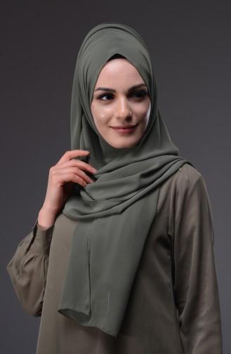 Light Khaki Green Shawl 111