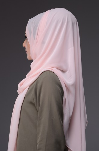 XL Chiffon Shawl 50045-72 Pink 72