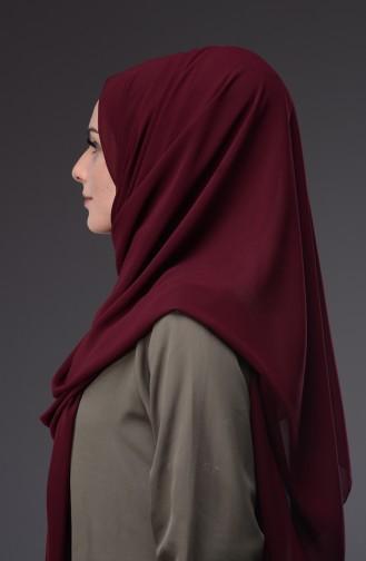 Dark Claret Red Sjaal 97