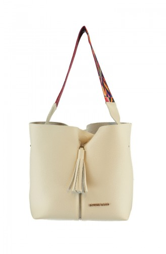 Beige Shoulder Bag 994-03
