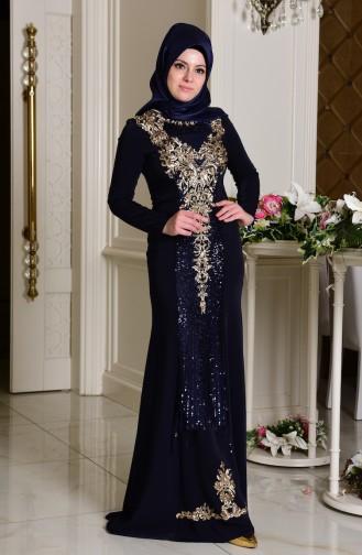 فستان مميز من الترتر  7621-01