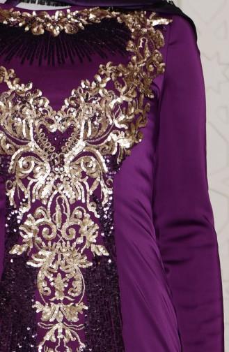 فستان مميز من الترتر  7621-02