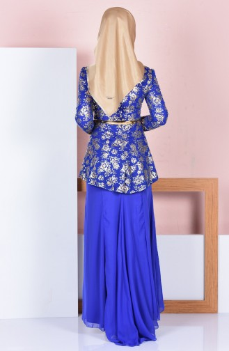 Kleid mit Gürtel 3015-06 Saks 3015-06