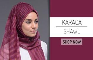 Karaca Simli Şal 90233