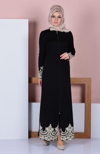 Black Abaya 3090-02