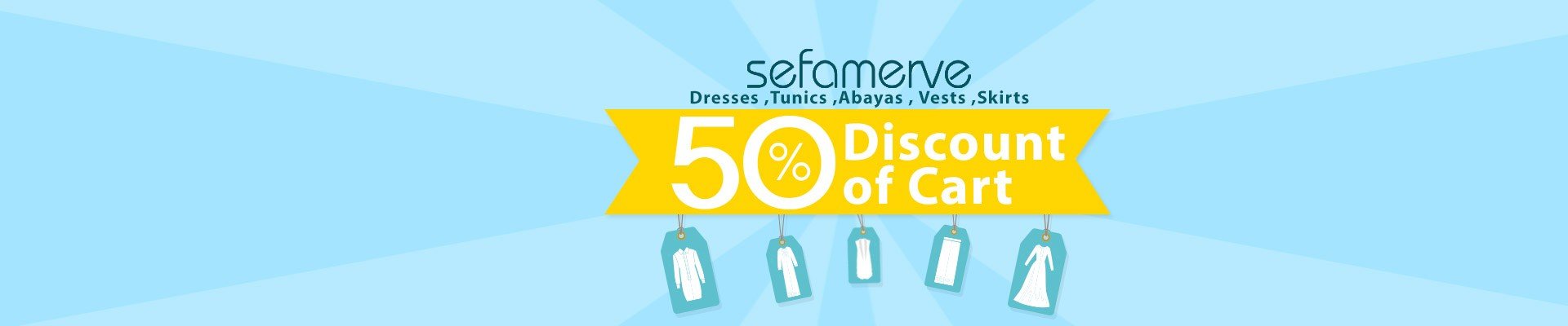 .%50 Discount of Cart