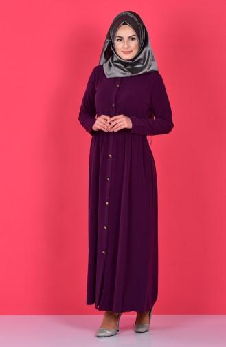 Purple Abaya 2111-11