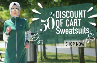 %50 Discount on Cart for Sweatsuit Models