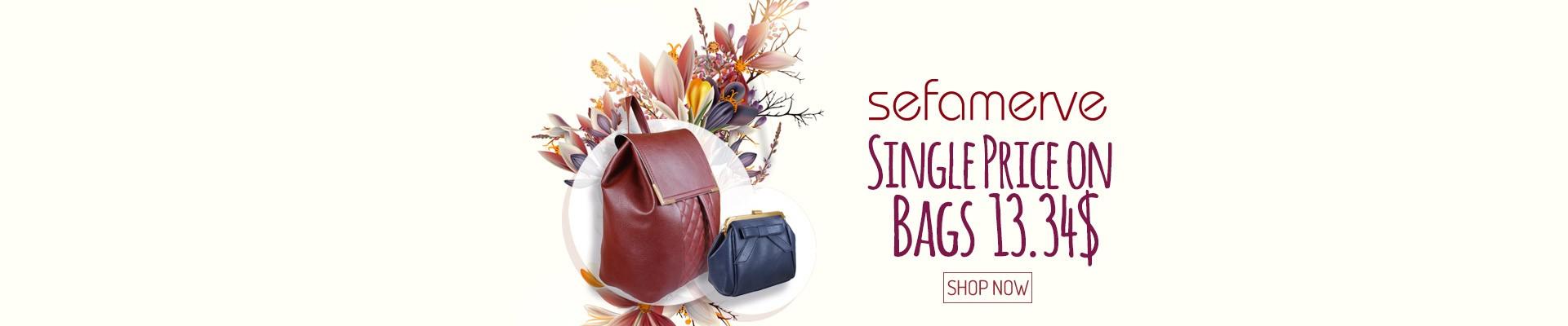 Single Price on Sefamverve Bags 29.90 TL