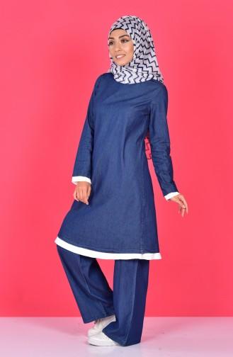 Tunic Trousers Double Suit 4405-01 Navy Blue 4405-01