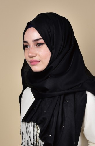 Studded Shawl 3031-03 Black 03